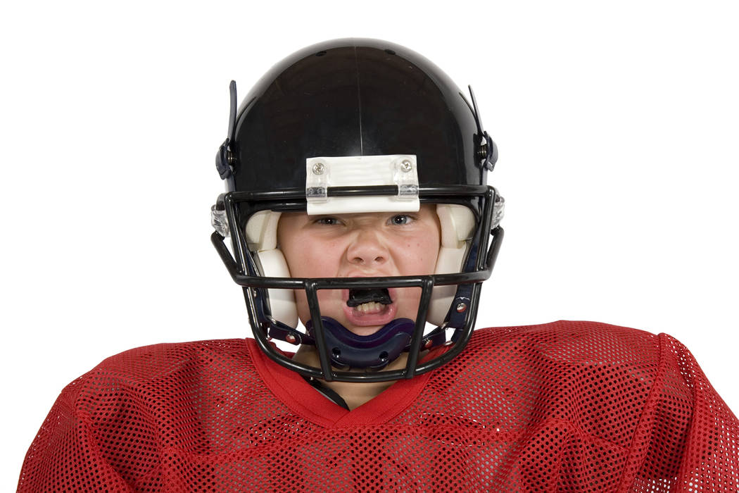 Thinkstock Taking a closer look at mouth guard usage for some higher-impact sports, the survey shows that for football, just 32 percent of parents report their child wears a mouth guard.