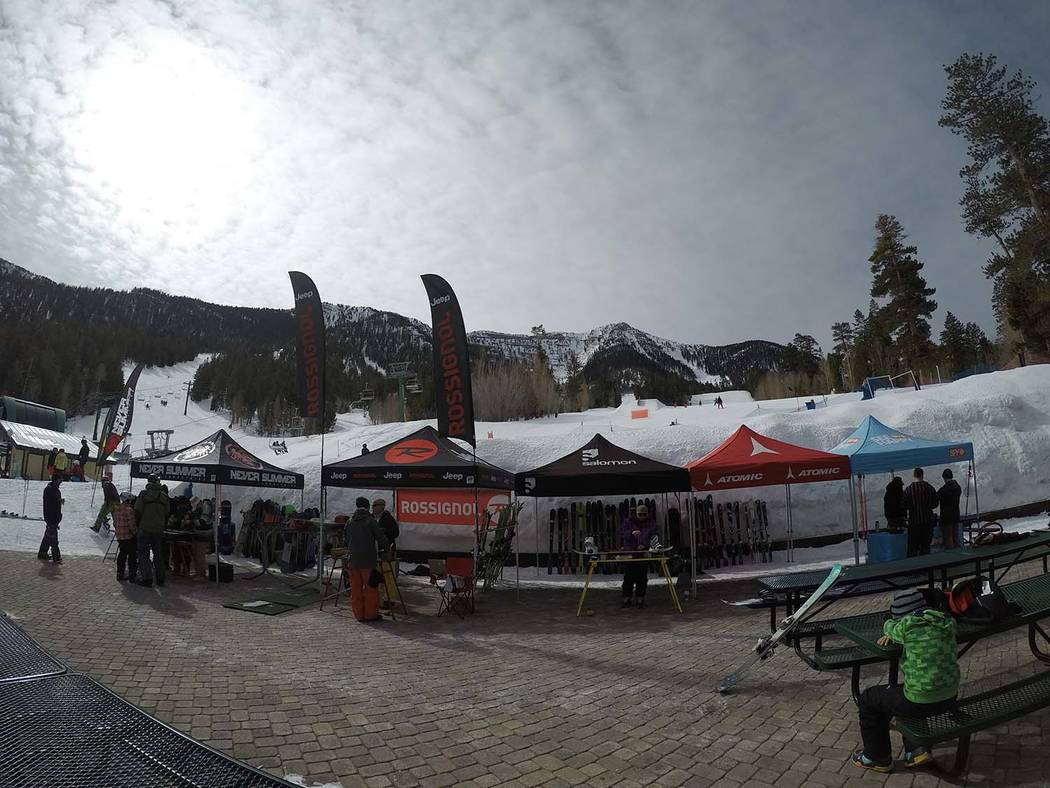 Lee Canyon A look at the scene at the 2017 Ruby Cup at Lee Canyon as shown in a file photo. This year's event is Saturday. The Ruby Cup is from 11 a.m. to 2:30 p.m. and is open to skiers and snowb ...
