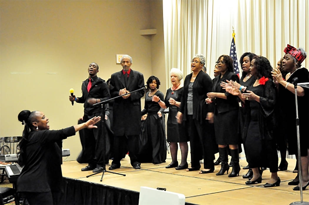 """Selwyn Harris/Pahrump Valley Times Vocal, musical and dance performances have been a mainstay of the MLK Day """"All People's Day"""" celebration for upwards of 15 years in the Pahrump community. The ev ..."""