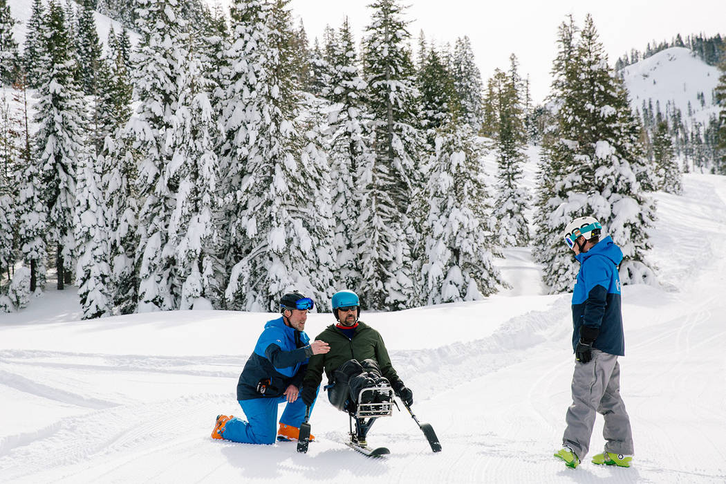 Special to the Pahrump Valley Times The Warfighter Sports program was designed to offer sports rehabilitation for severely wounded warriors in military hospitals and communities across the U.S. th ...