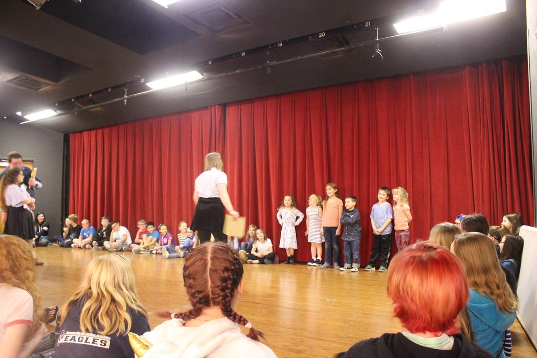 Jeffrey Meehan/Pahrump Valley Times About 50 to 60 kids audition for parts in a local production of King Arthur's Quest. The venue is set to be held at the Pahrump Valley High School auditorium on ...