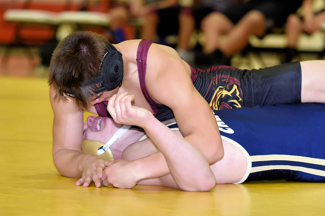 Peter Davis/Special to the Pahrump Valley Times Pahrump Valley's Braylon Durazo is shown in action this season. Today and Saturday, Pahrump Valley is scheduled to compete in the Chaparral Invitati ...