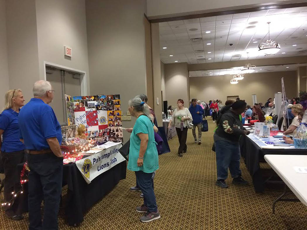 Robin Hebrock/Pahrump Valley Times Hundreds of residents made their way through the Pahrump Nugget Events Center on Wednesday, Jan. 17 to learn all about the many social services available in town ...