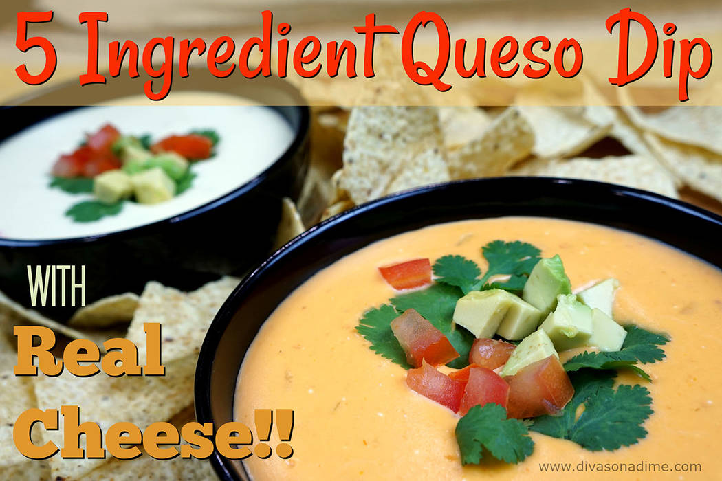 Patti Diamond/Special to the Pahrump Valley Times Once you taste queso dip made with real cheese and enjoy the depth of flavor, you'll never go back to processed cheese, columnist Patti Diamond  ...