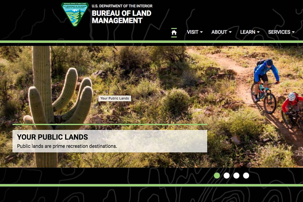 Screenshot/www.blm.gov Fewer than 400 people total turned out for a series of six public meetings the U.S. Bureau of Land Management held last month in various communities impacted by the Southern ...