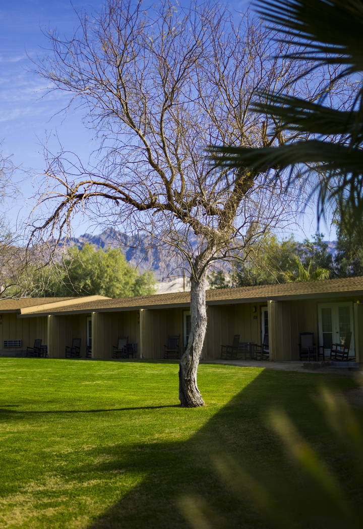 Rooms at The Ranch at Death Valley in Death Valley National Park, Calif, on Wednesday, Jan. 24, 2018. Chase Stevens Las Vegas Review-Journal @csstevensphoto
