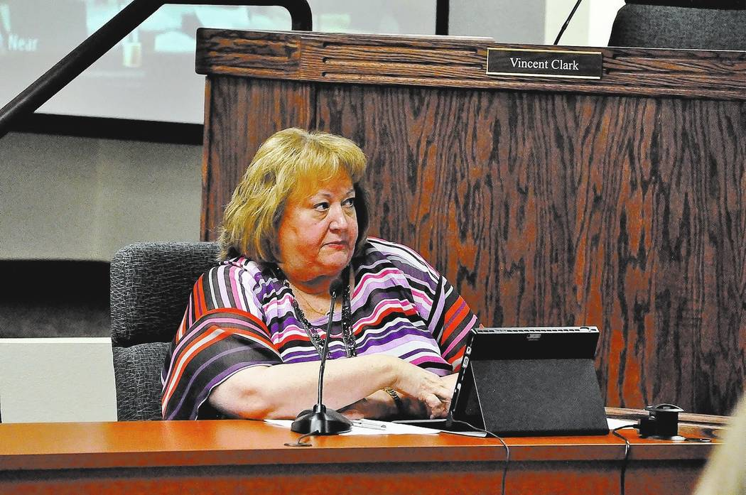 Horace Langford Jr./Pahrump Valley Times  Former Nye County Manager Pam Webster has been appointed as Interim Nye County Treasurer. She will be in charge of implementing changes following an audit ...