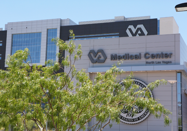 Ronda Churchill/Las Vegas Review-Journal The Veterans Affairs Medical Center is shown in North Las Vegas in a 2015 photo. While Nye County veterans can receive medical care at the VA's Pahrump f ...