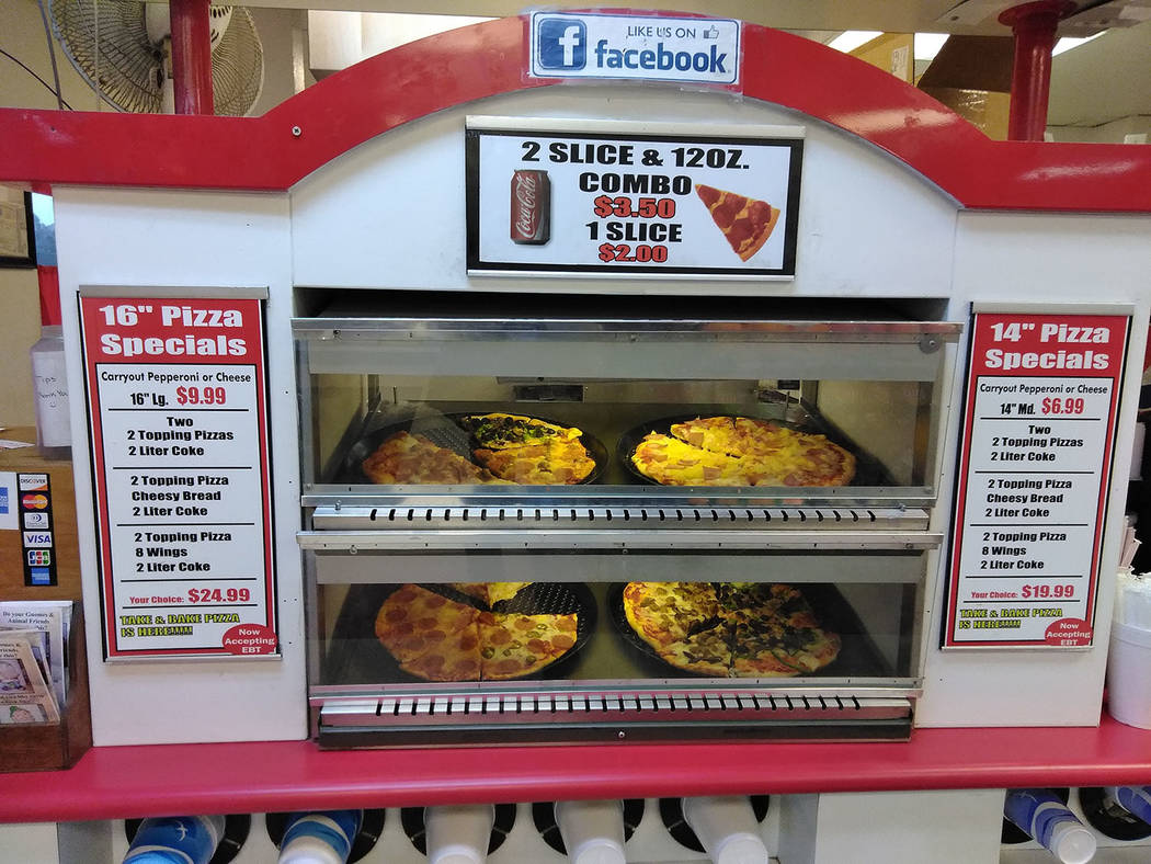 Selwyn Harris/Pahrump Valley Times  Tarantino's Pizza owner Bob Shourek took over the business back in 2009. Since then Shourek said he routinely participates in local fundraising events through ...