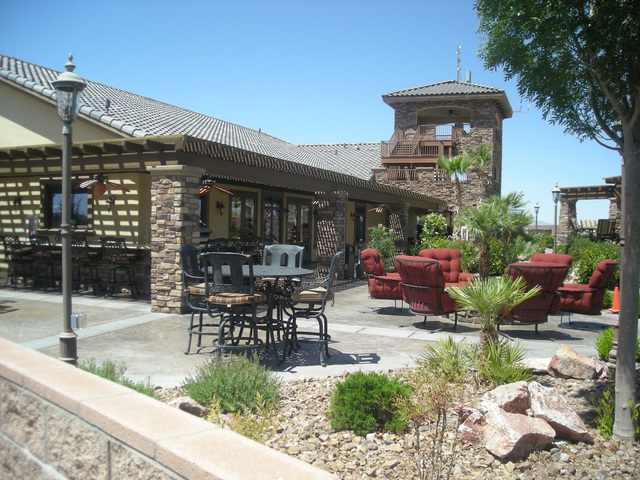 Pahrump Valley Times A clubhouse facility at Spring Mountain Motor Resort and Country Club as shown in a file photo. A tentative map has been approved for a commercial subdivision on a nearly 22-a ...