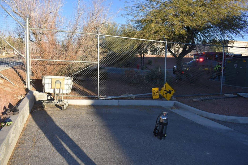 Special to the Pahrump Valley Times Fire crews were summoned after an employee discovered smoke emanating from a small package at the main post office just before 4:30 p.m. on Thursday, Feb. 15. A ...