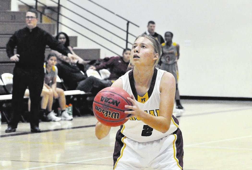 Horace Langford Jr./Pahrump Valley Times Senior Alyvia Briscoe's value went well beyond the stat sheet for Pahrump Valley's girls basketball team, and her efforts were rewarded with first-team All ...