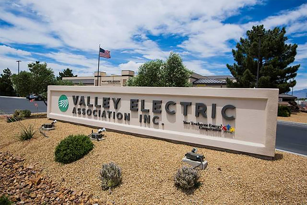 Special to the Pahrump Valley Times  VEA Operations Manager James Andresen said the repairs would start at 8 a.m. and run through 4 p.m.  Sunday, weather permititng. Andresen said that the contrac ...