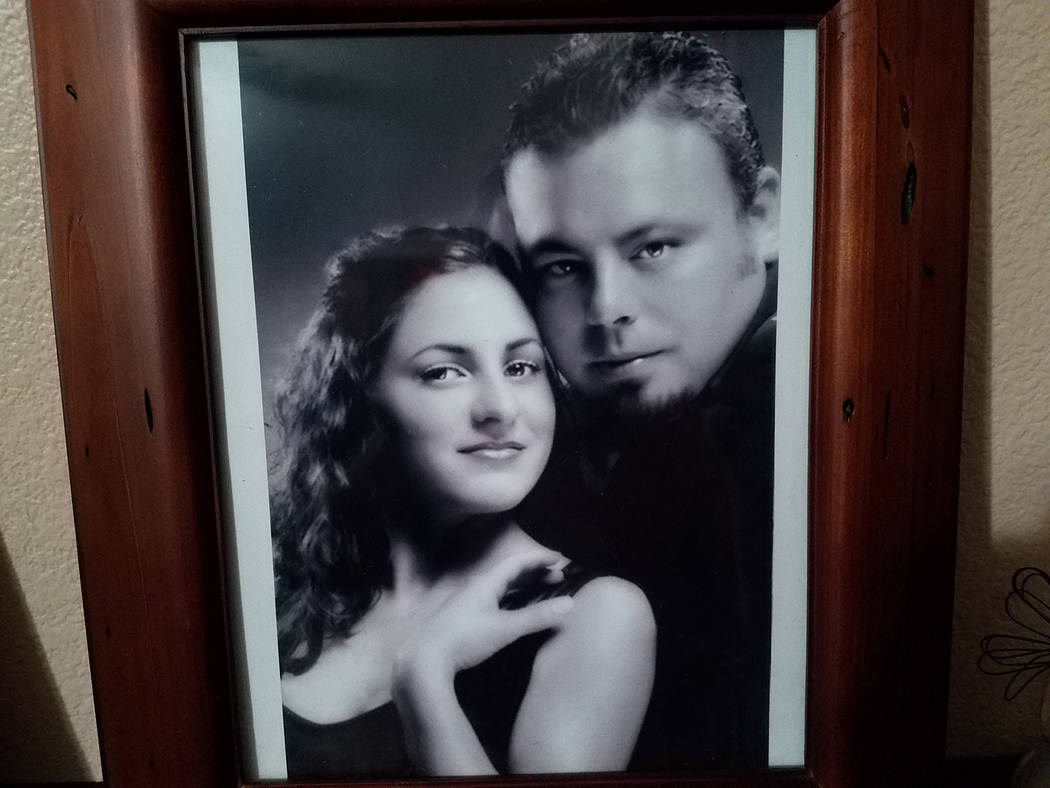 Special to the Pahrump Valley Times Anna Moon has never dated or remarried since her husband Jeremy's death 12 years ago. Both would have celebrated their 14th wedding anniversary on October 23, o ...