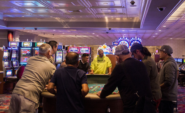 Elizabeth Page Brumley/Las Vegas Review-Journal  Nye County gaming operators saw an increase of more than 298 percent in revenue in the games and tables category in January, according to data from ...