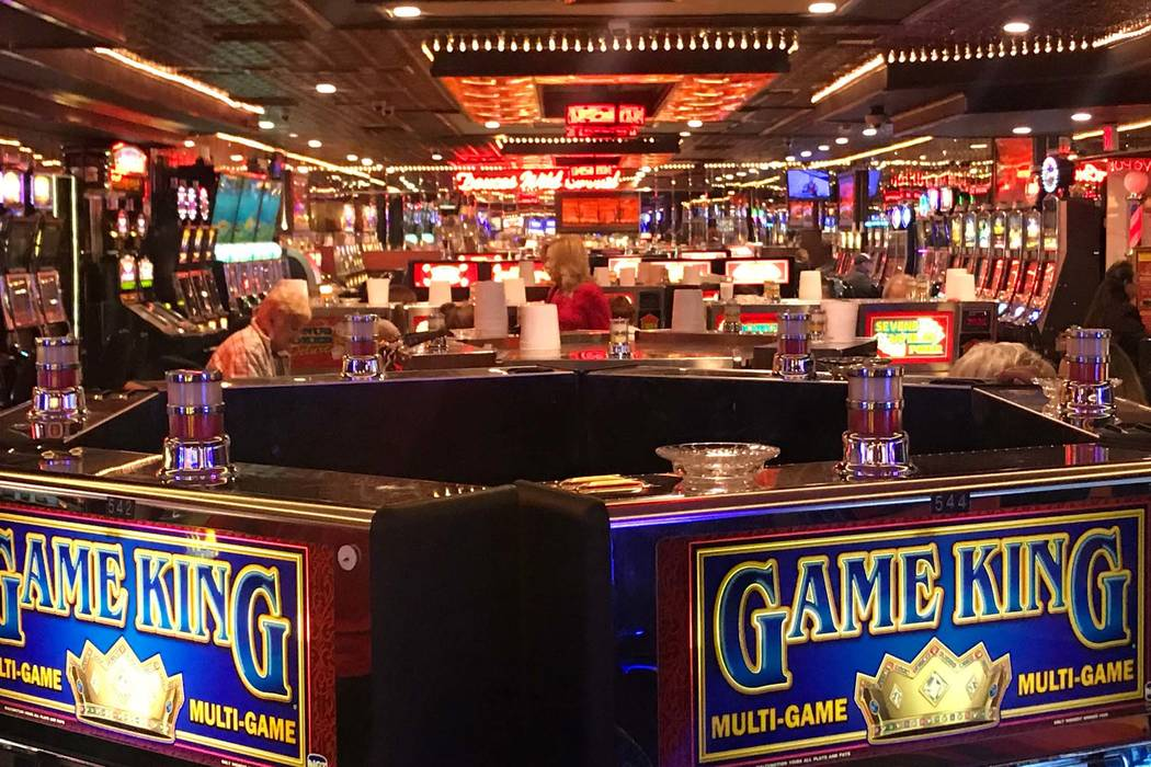 Todd Prince/Las Vegas Review-Journal Clark County gaming operations saw a decrease of 3.68 percent in gaming win in January compared to the same time a year ago, marking the fourth straight month  ...