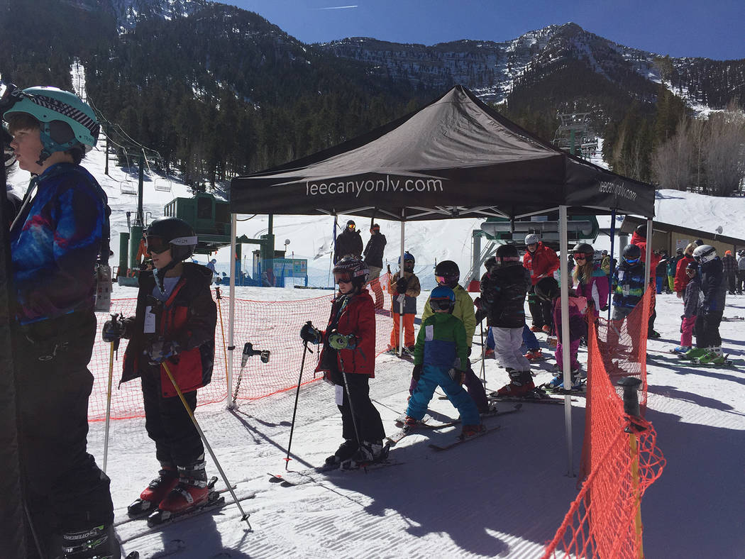 Special to the Pahrump Valley Times Besides the participants, the event also traditionally draws family, friends, and other skiers and snowboarders. The Feb. 24 competition was the culmination of  ...