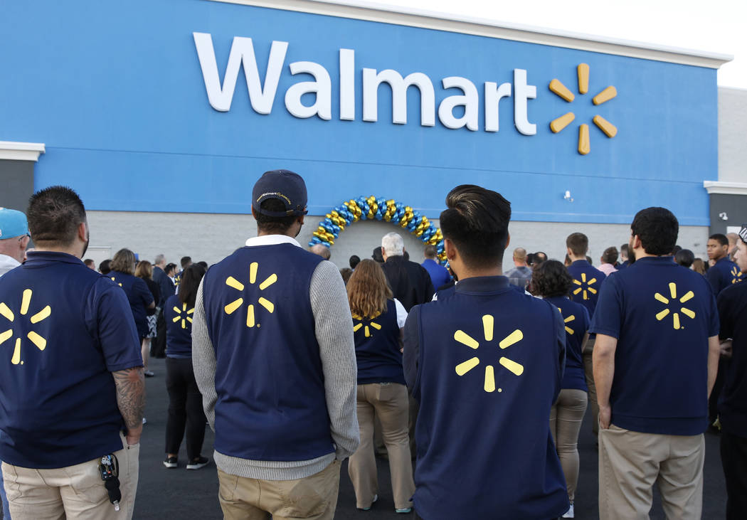 Bizuayehu Tesfaye/Las Vegas Review-Journal The Veterans Welcome Home Commitment helps veterans find career opportunities at Walmart and aims to ease the sometimes difficult transition from active  ...