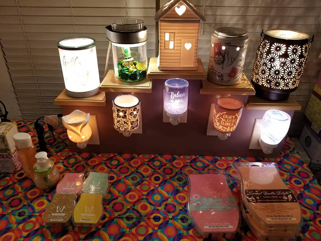 Special to the Pahrump Valley Times Scentsy products will part of more than two dozen unique items for sale by vendors at the annual Mountain Falls Craft Show on Saturday. The event will be hosted ...