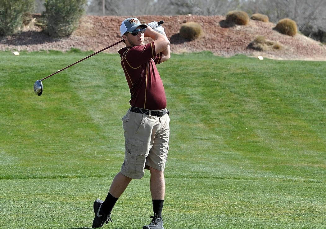 Horace Langford Jr./Pahrump Valley Times Pahrump Valley sophomore Haden Wray had a career-best round of 88 Wednesday as the Trojans won their second consecutive Class 3A Sunset League match of the ...