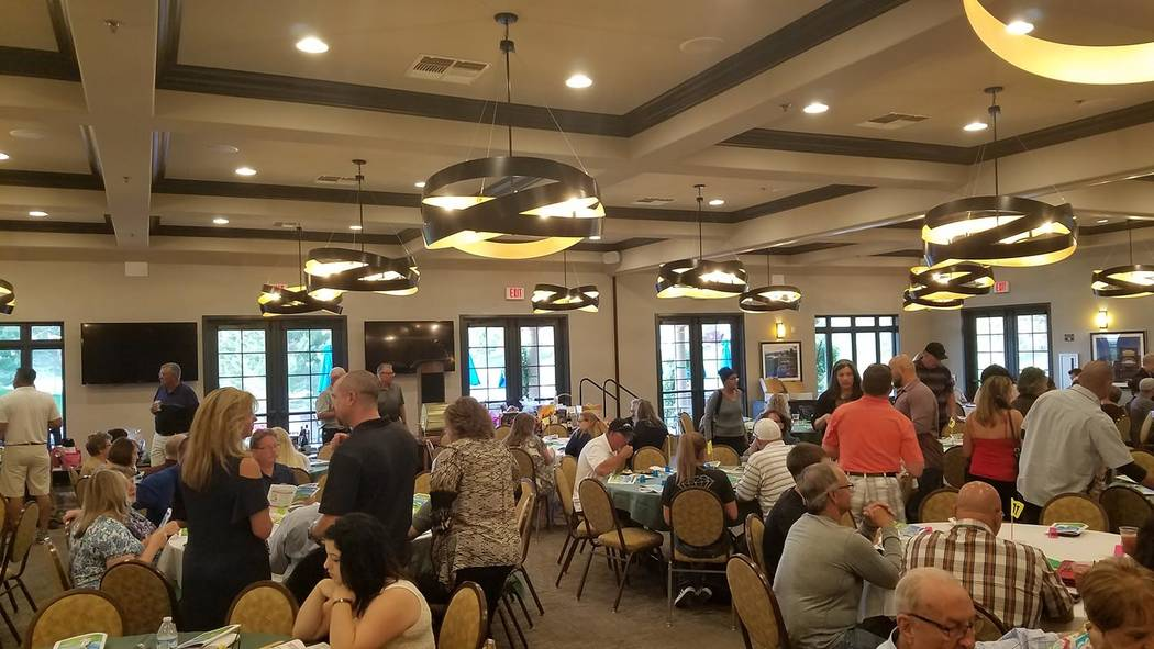 David Jacobs/Pahrump Valley Times The Grill Room at Mountain Falls Golf Club again will be the site of the Pahrump Valley Youth Golf Founders Club's Quarter Auction. The 23rd annual event is sched ...