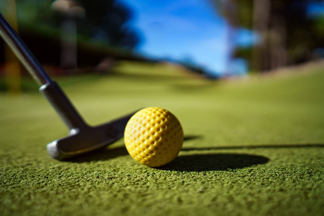 Thinkstock A golfer scored a hole-in-one in Pahrump earlier this month.