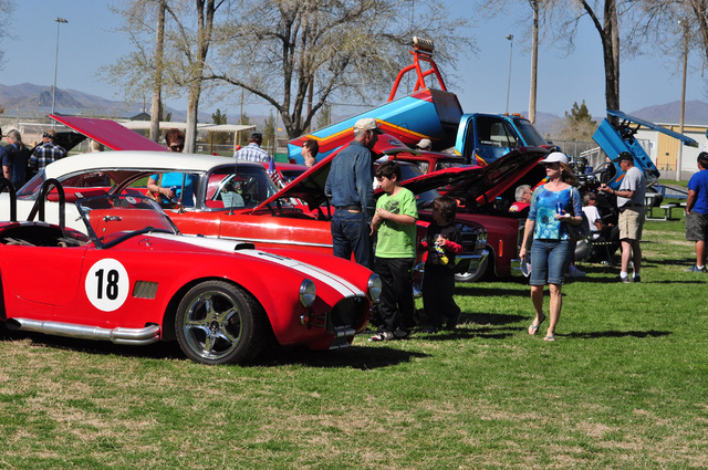 Horace Langford Jr./Pahrump Valley Times A car show returns to the Silver State Chili Cook-off this weekend. The Silver State Chili Cook-off is set for Petrack Park.