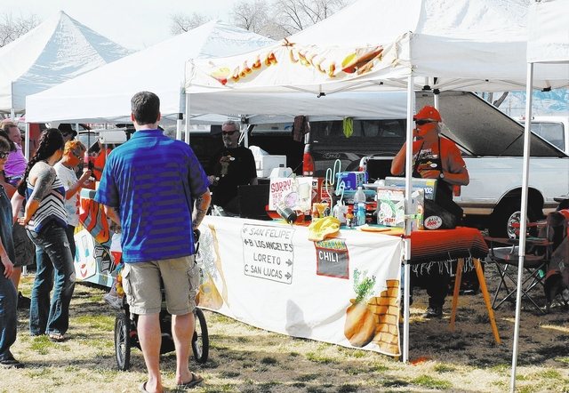 Horace Langford Jr./Pahrump Valley Times A look at a past Silver State Chili Cook-off. This year's annual Silver State Chili Cook-off returns this Saturday and Sunday, March 24-25.