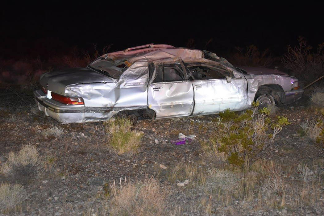 Special to the Pahrump Valley Times Three people transported to Desert View Hospital are recovering from a single-vehicle rollover crash Thursday evening along Highway 160, near Mile Marker 21, on ...