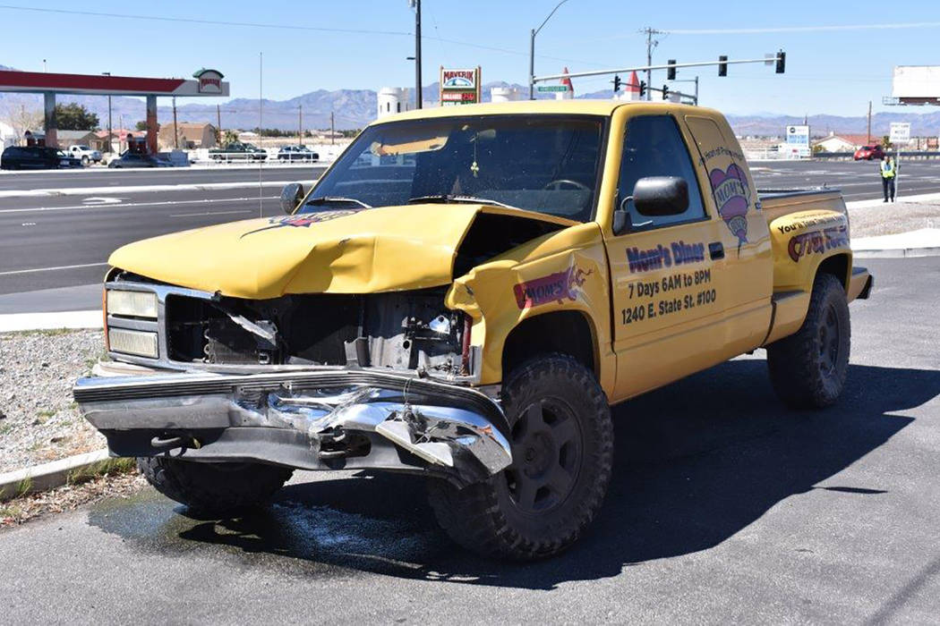 Special to the Pahrump Valley Times One person was transported to Desert View Hospital following a two-vehicle crash at Highway 160 and Winery Road on Friday morning March 23, just before 11:30 a. ...