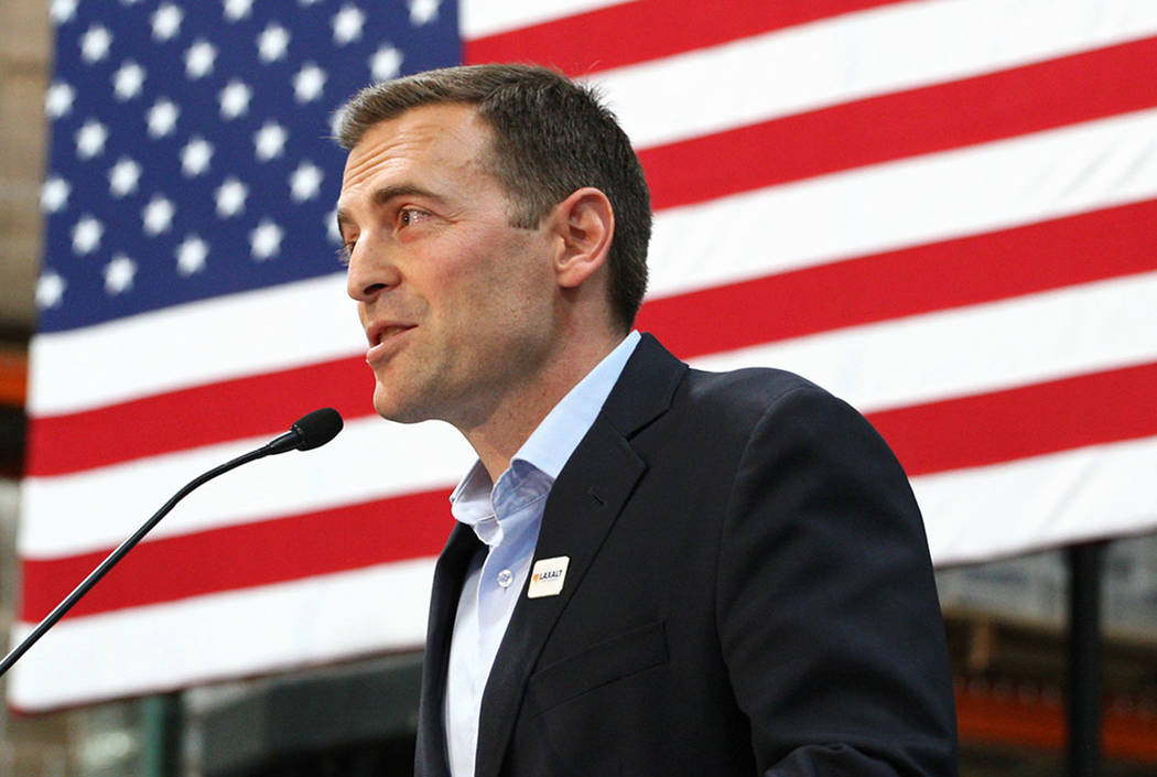Nevada Attorney General Adam Laxalt, a Republican, is considered a front runner by many in the race for Nevada Governor. Las Vegas Review-Journal