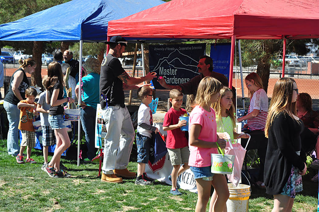 Selwyn Harris/Pahrump Valley Times Upwards of 20 area organizations are participating in Saturday's Community Easter Picnic at Petrack Park beginning at 10 a.m. The free, family-friendly event wil ...