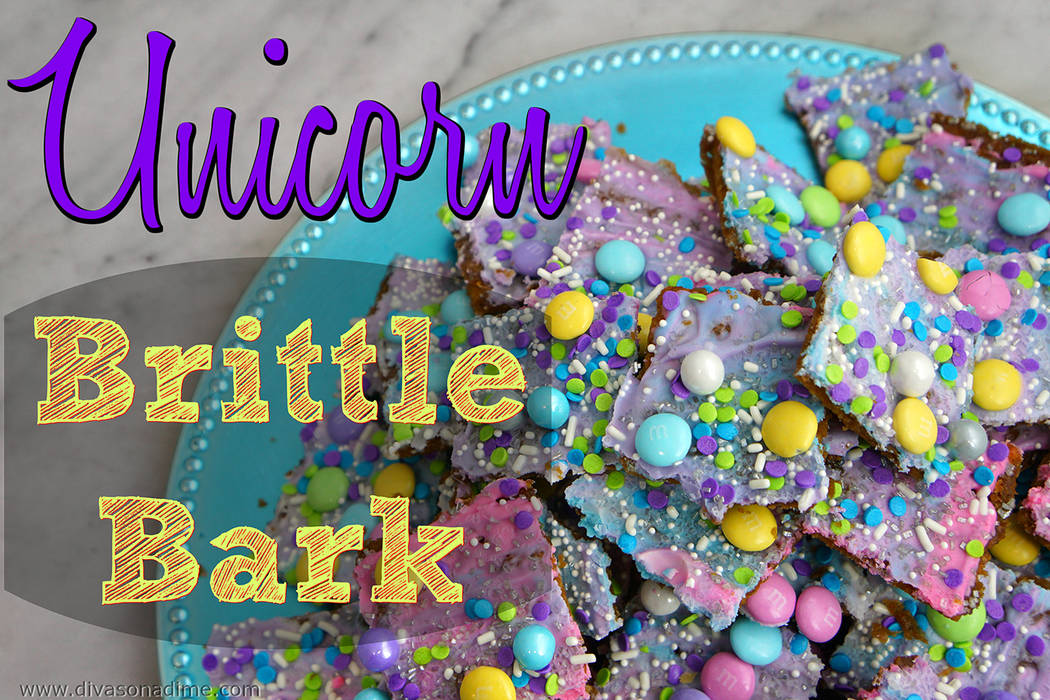Patti Diamond/Special to the Pahrump Valley Times Unicorn Brittle bark is perfect for gift giving, bridal showers, baby showers, girlie birthday parties, and making everyone who receives it totall ...