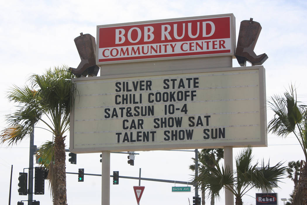 Robin Hebrock/Pahrump Valley Times The 6th Annual ICS Silver State Chili Cook Off took place last weekend, drawing thousands to Petrack Park over two days of chili-loving fun.
