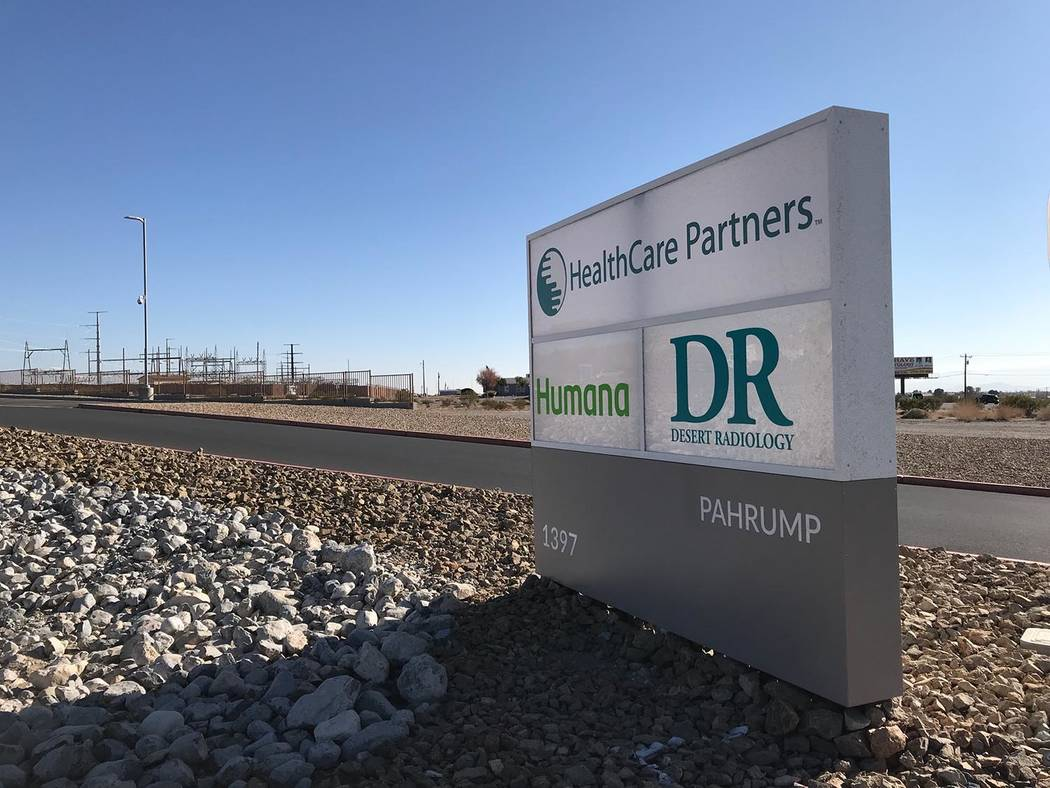 Jeffrey Meehan/Pahrump Valley HealthCare Partners opened its 57,000-square-foot medical facility in October 2017, consolidating its roughly five locations and putting them under one roof. The new ...