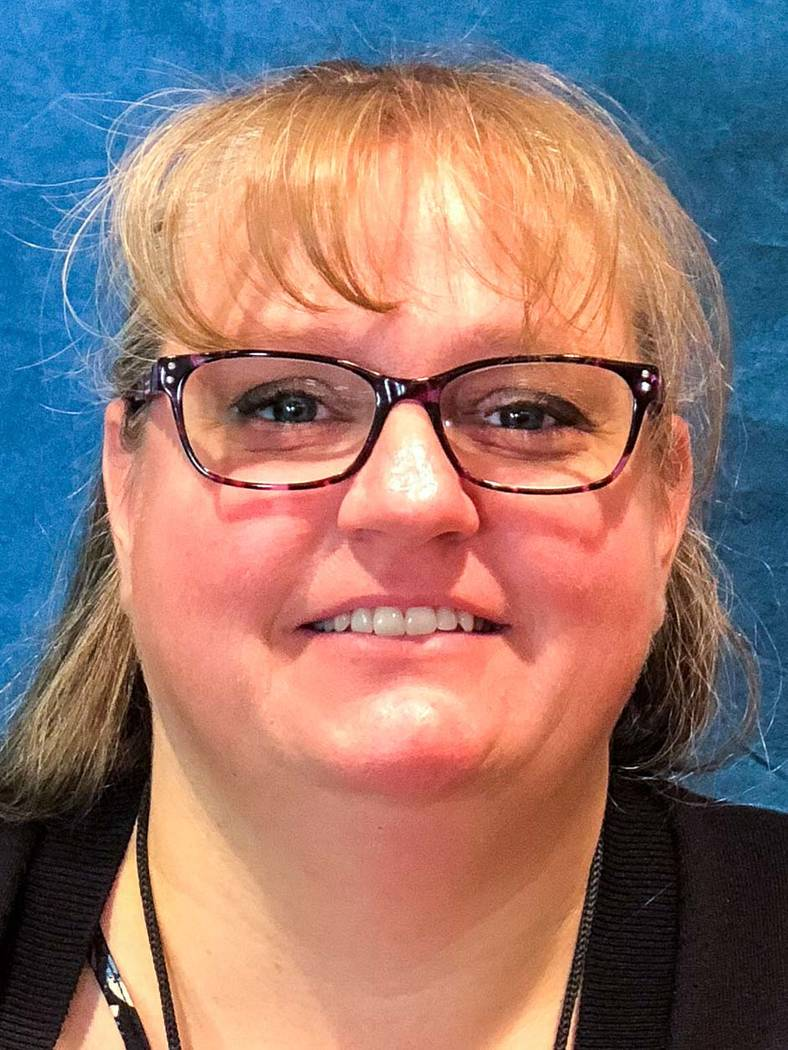 Special to the Pahrump Valley Times Deanna Greene has been assigned as the interim supervisor of community relations at Valley Electric Association.