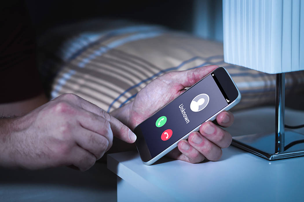 """Thinkstock Anyone receiving a recording or call of this nature, claiming to be from the sheriff's office, """"do not be fooled and hang up the phone immediately,"""" Washoe authorities said."""