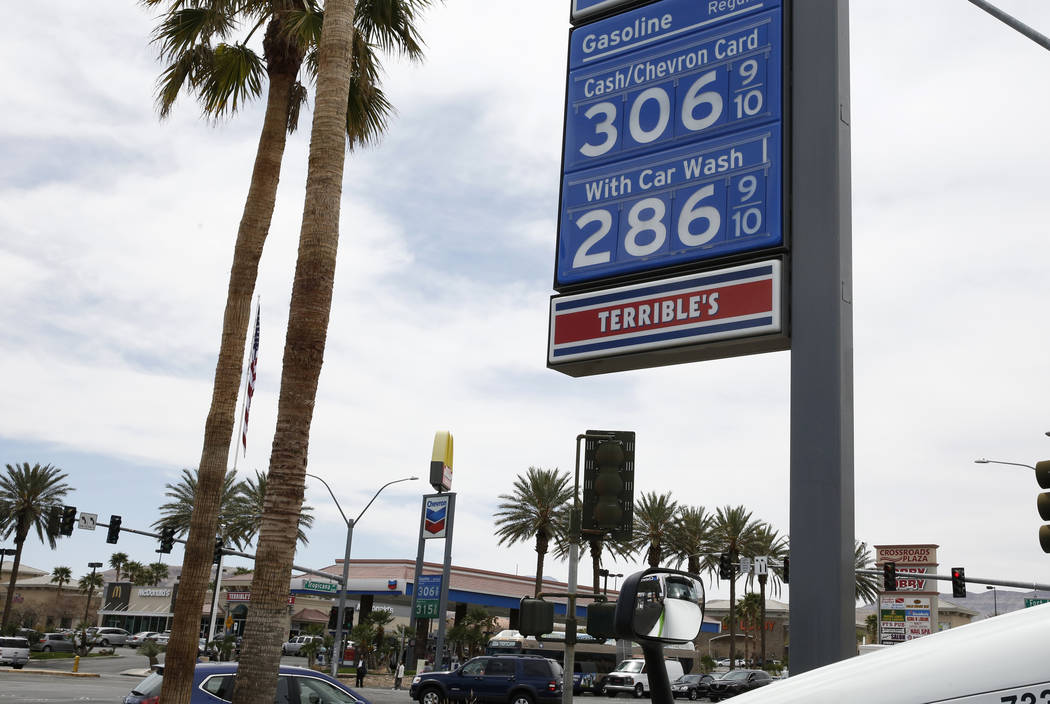 Gas Station Prices >> Average Gas Price In Nevada Soars To 3 A Gallon Pahrump Valley Times