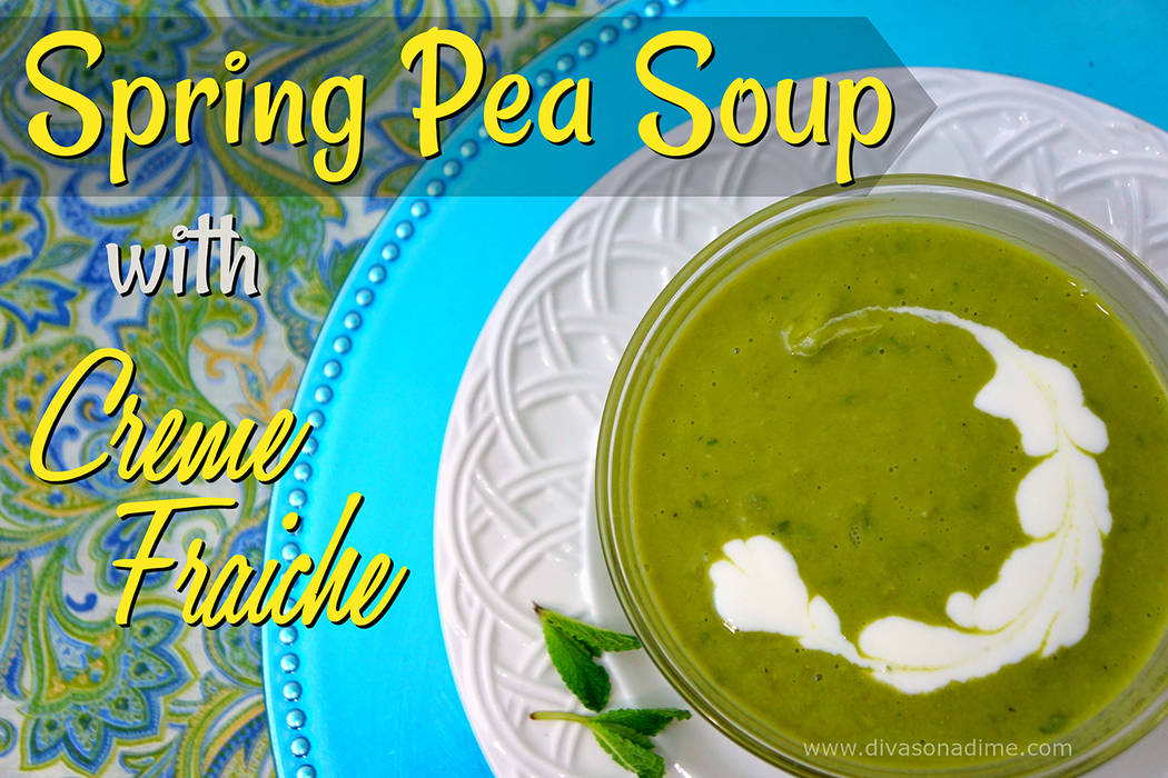 Patti Diamond/Special to the Pahrump Valley Times This is a lovely recipe that just sings of spring, columnist Patti Diamond writes. The flavors are rich but still light, creamy but still bright.