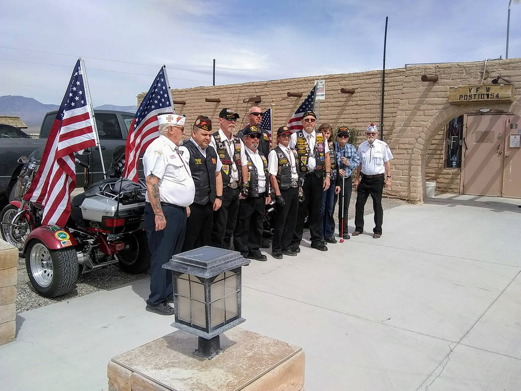 Special to the Pahrump Valley Times Dozens of family, friends and fellow veterans honored Kenneth James Wilkinson with a special ceremony at the VFW Post 10054 on Homestead Road last month. Wilkin ...