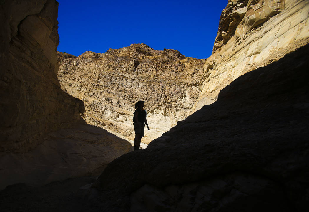 Jeff Scheid/Las Vegas Review-Journal Mosaic Canyon near Stovepipe Wells in Death Valley National Park as seen on March 10, 2013. The price for the Lifetime Senior Pass and the annual America the B ...