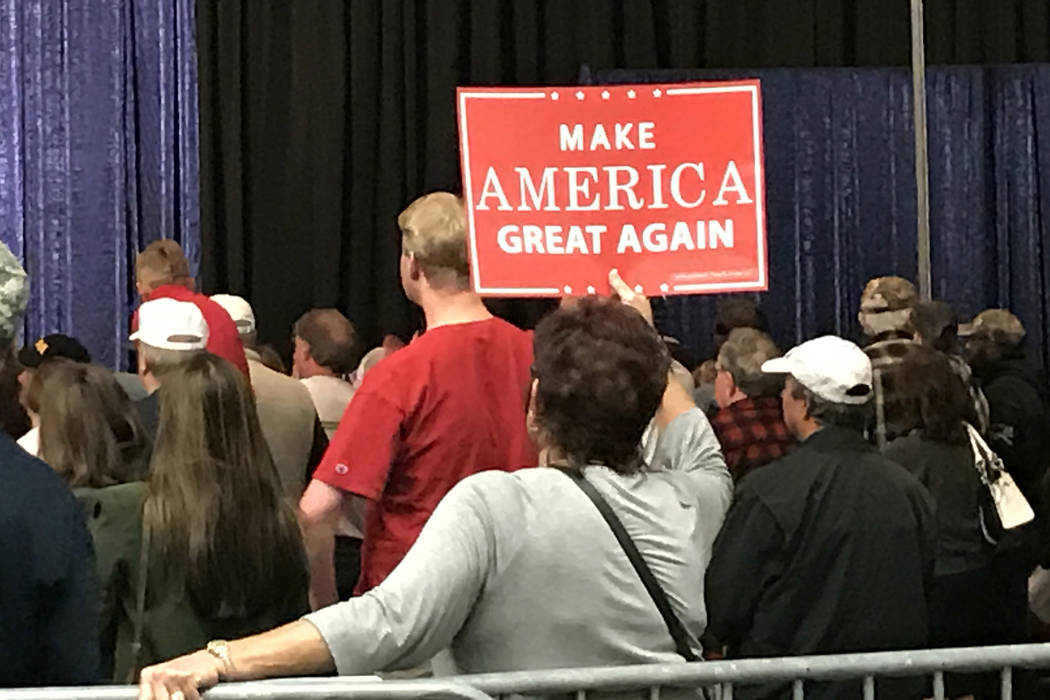 """Las Vegas Review-Journal Donald Trump used """"Make America Great Again"""" effectively to energize a segment of the voting population that felt ignored by the previous administration.columnist Tim ..."""