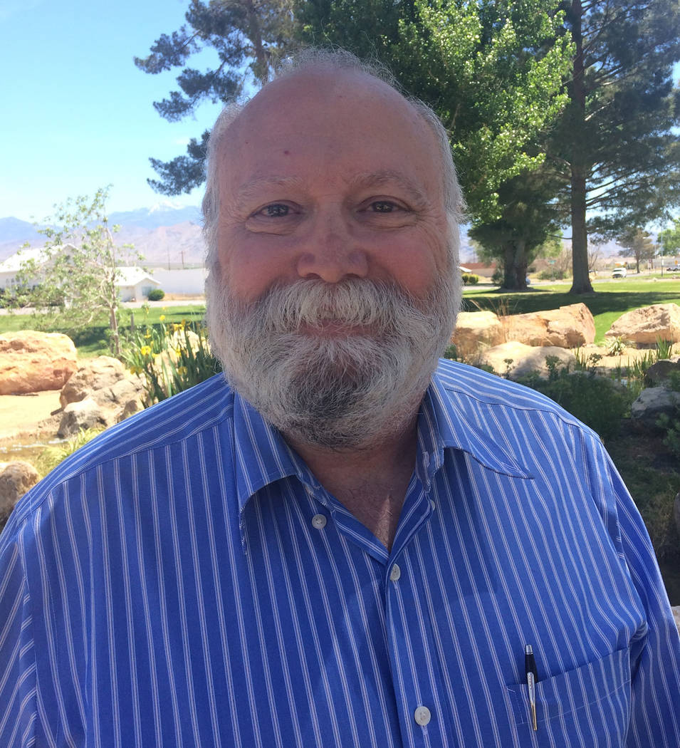 Robin Hebrock/Pahrump Valley Times Nye County Commission District 5 candidate Leo Marchetti.