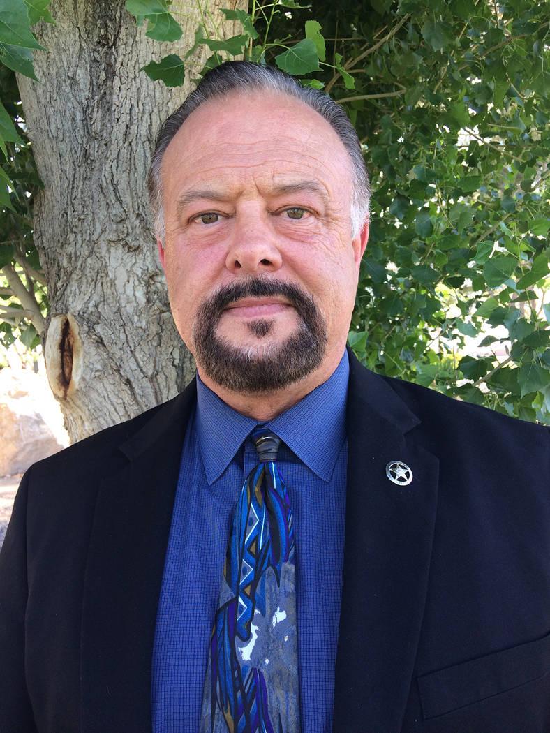 Robin Hebrock/Pahrump Valley Times Nye County Sheriff candidate David Hiebert.