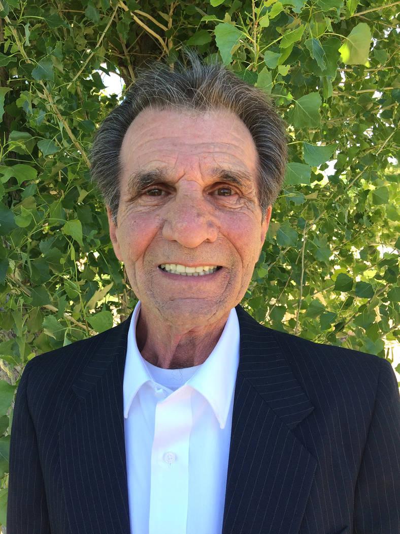 Robin Hebrock/Pahrump Valley Times Nye County Sheriff candidate Joe Moffett.