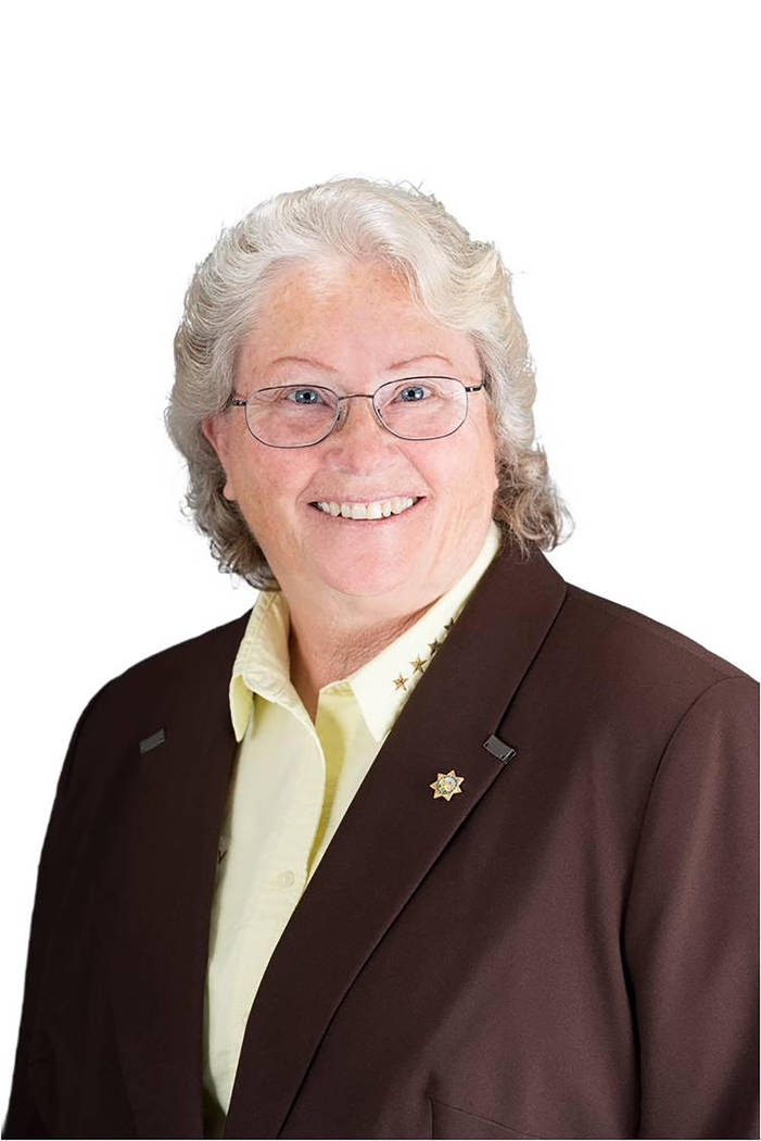 Special to the Pahrump Valley Times Nye County Sheriff Sharon Wehrly is the incumbent candidate in the nonpartisan race for the position of the county's top law enforcement officer.