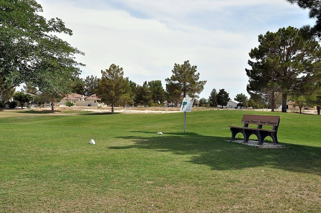 Horace Langford Jr./Pahrump Valley Times The next step for Lakeview Executive Golf Course will be finding a management company to run it for its new owner, the Town of Pahrump.