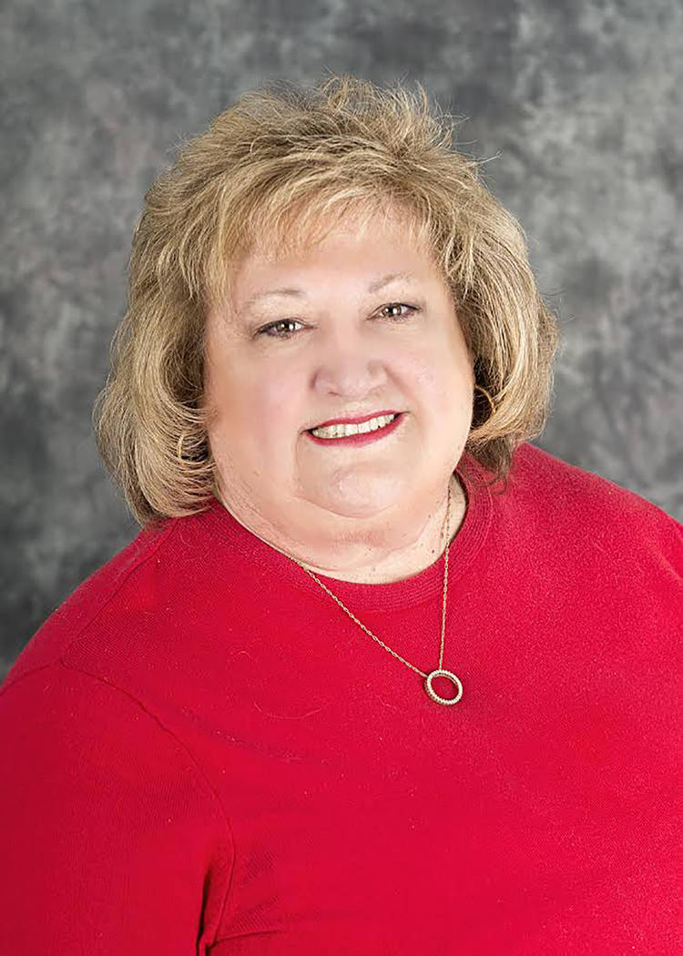 Special to the Pahrump Valley Times Nye County Treasurer Pam Webster was appointed to the office in January and now wants to make that post official.