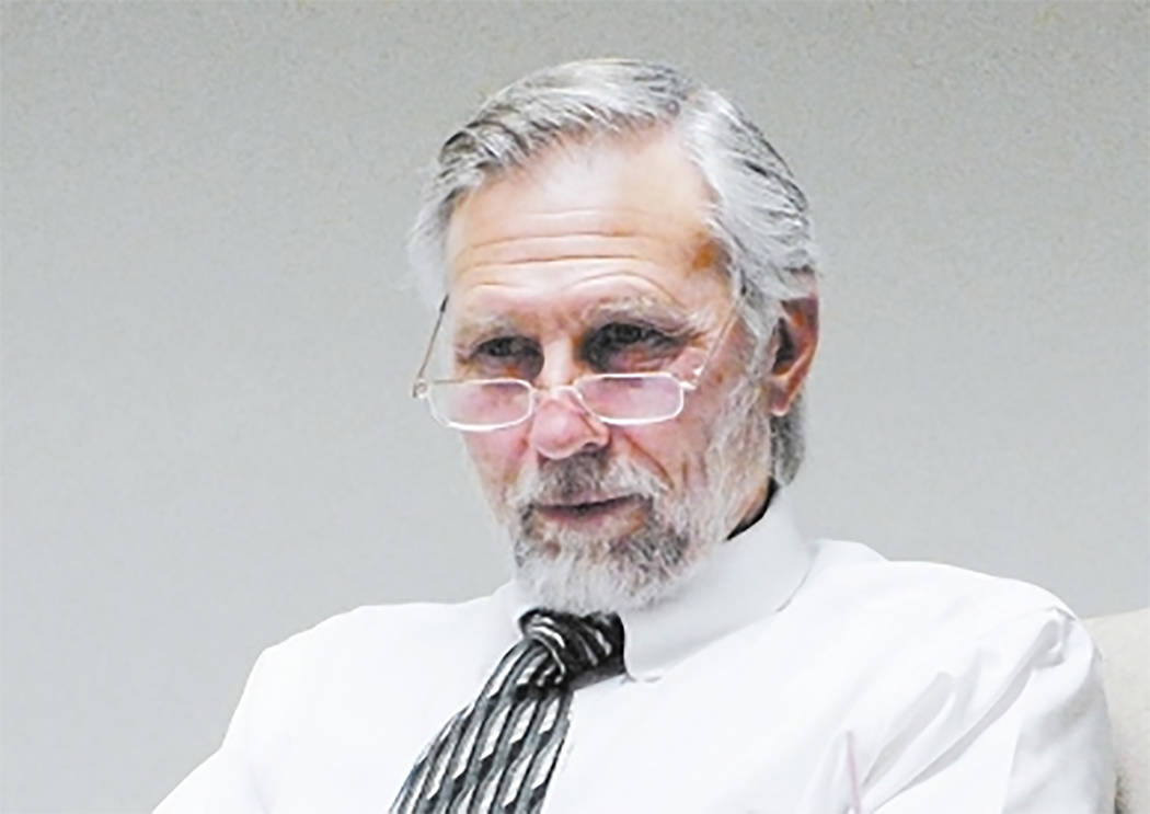 Special to the Pahrump Valley Times Pahrump Justice of the Peace candidate and Former Nye County Commissioner and U.S. Air Force veteran Frank Carbone, is a 12 year resident of Pahrump. On the iss ...