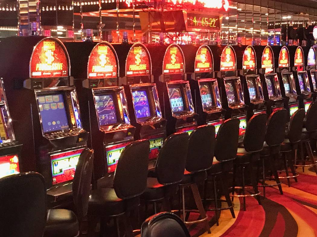 Todd Prince/Las Vegas Review Journal Overall gaming revenue from slot machines in Nye County grew by 16.29 percent in March 2018 over the same period a year earlier. Overall, gaming establishments ...